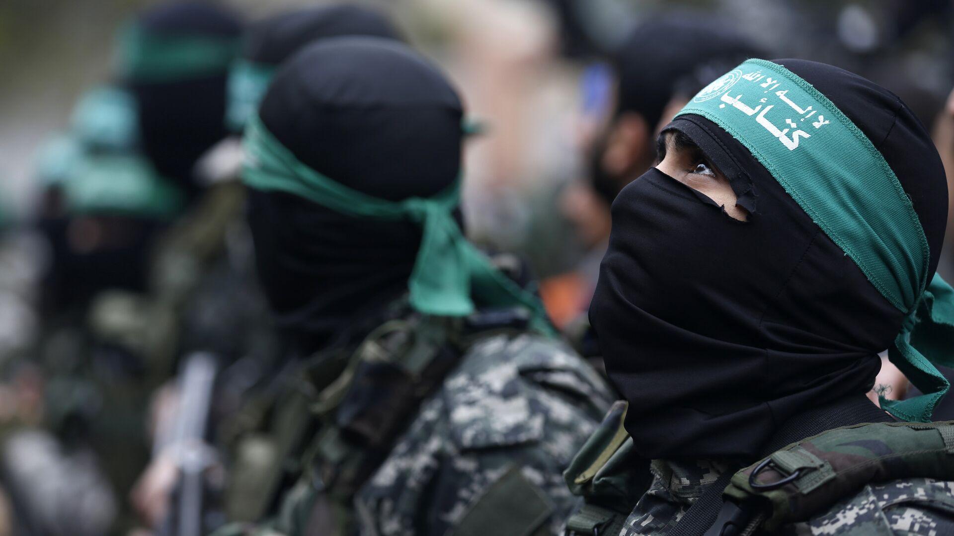 Militantes del movimiento Hamás - Sputnik Mundo, 1920, 25.05.2021