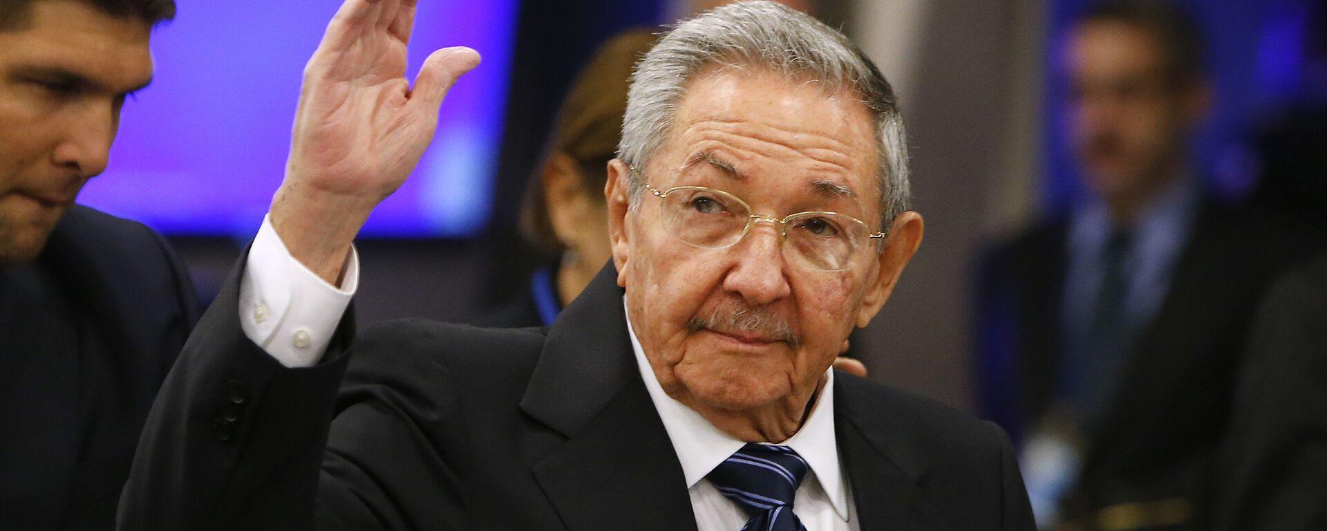 Raúl Castro, presidente de Cuba - Sputnik Mundo, 1920, 19.04.2021