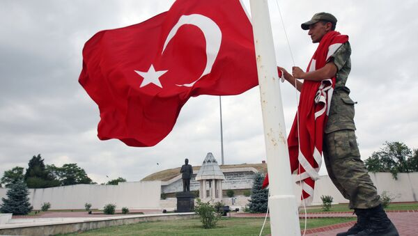 Militante de Turquía - Sputnik Mundo