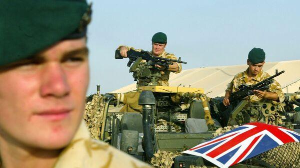 Soldados del ejército de Reino Unido - Sputnik Mundo