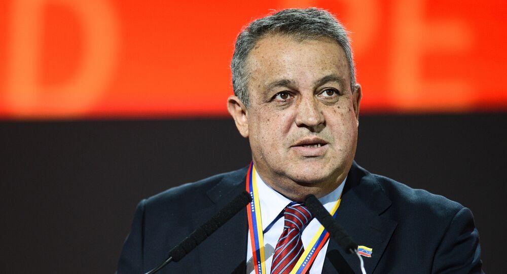Eulogio del Pino, ministro de Petróleo y Minería de Venezuela