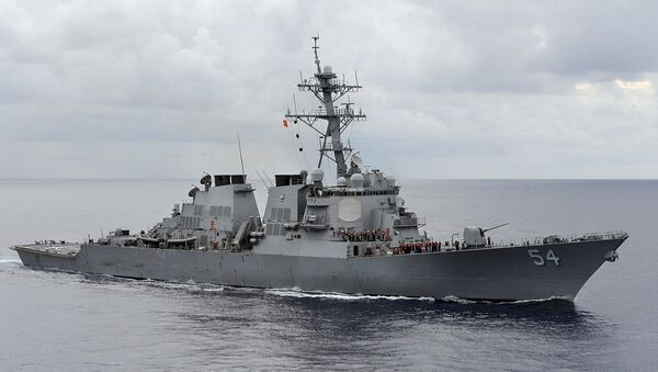 USS Curtis Wilbur - Sputnik Mundo