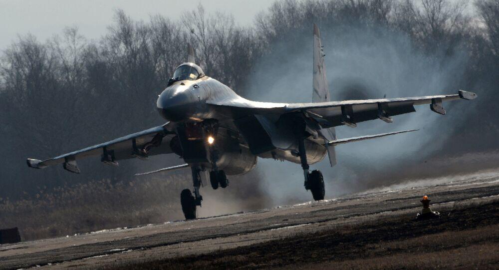 Caza ruso Su-35S