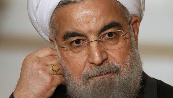 Hasán Rouhaní, el presidente de Irán - Sputnik Mundo