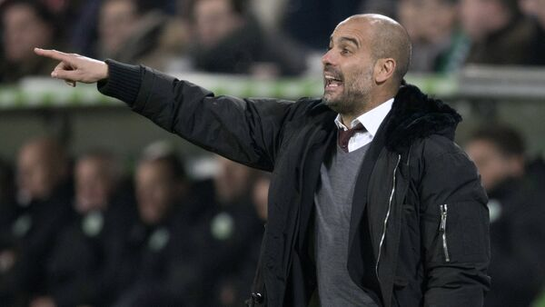 Josep 'Pep' Guardiola, entrenador de fútbol español - Sputnik Mundo
