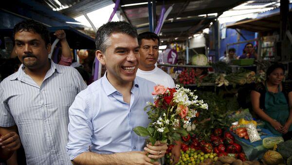 Julio Guzmán, candidato a la presidencia de Perú - Sputnik Mundo