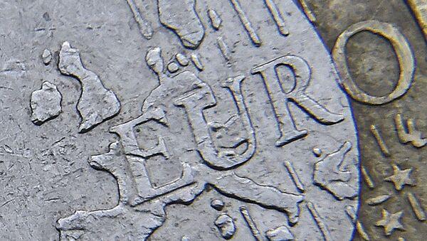 La moneda del euro - Sputnik Mundo