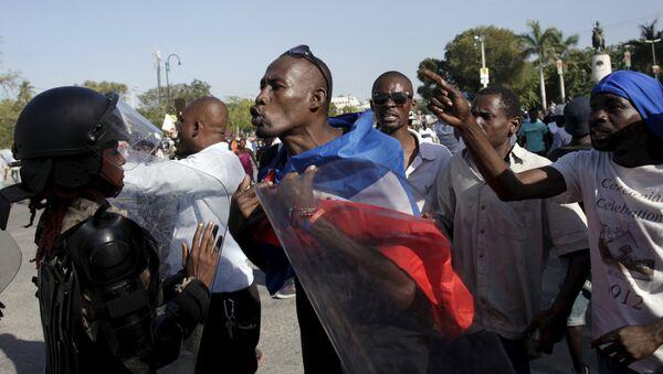 Crisis política en Haití - Sputnik Mundo