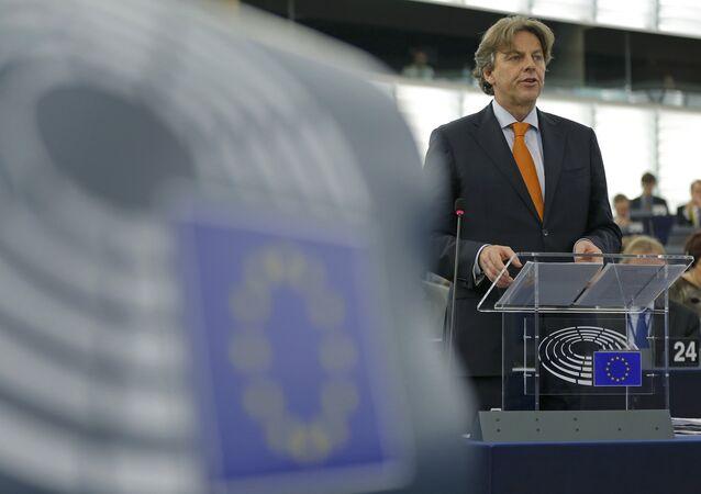 Bert Koenders, el ministro de Asuntos Exteriores de Holanda