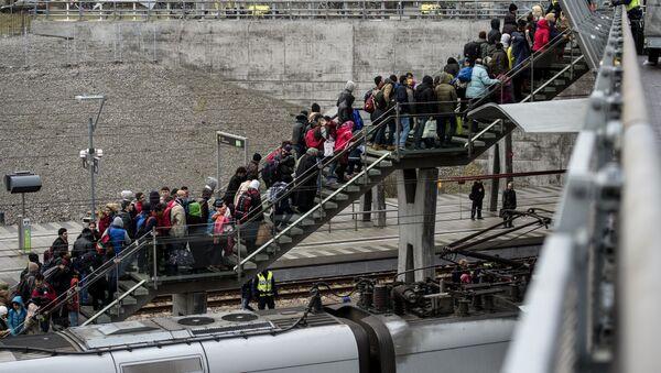 Refugiados en Suecia - Sputnik Mundo