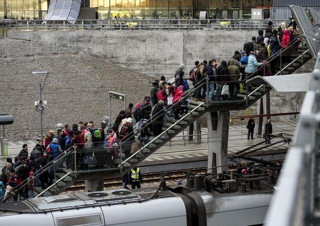 Refugiados en Suecia