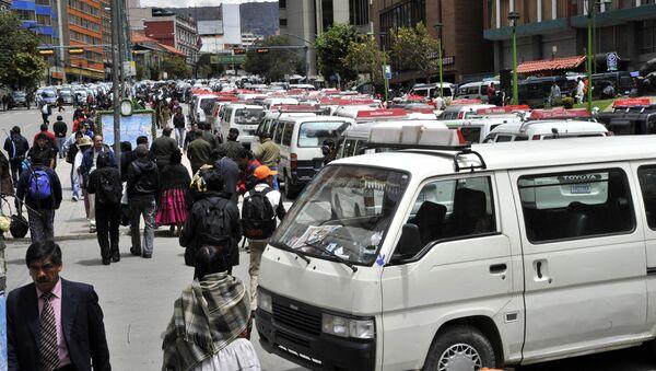 Transporte pesado bloquea carreteras, Bolivia - Sputnik Mundo