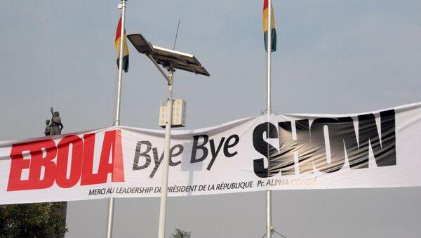 El concierto Hasta la vista, Ébola en Guinea - Sputnik Mundo