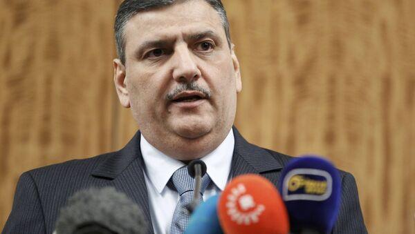 Riad Hiyab, jefe del del Alto Comité de Negociaciones de Siria - Sputnik Mundo