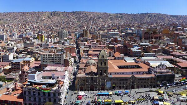La Paz, Bolivia - Sputnik Mundo