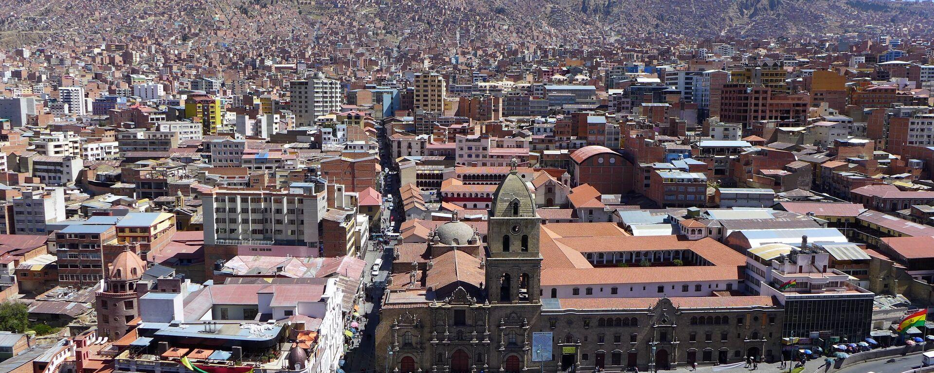 La Paz, la capital de Bolivia - Sputnik Mundo, 1920, 21.05.2021