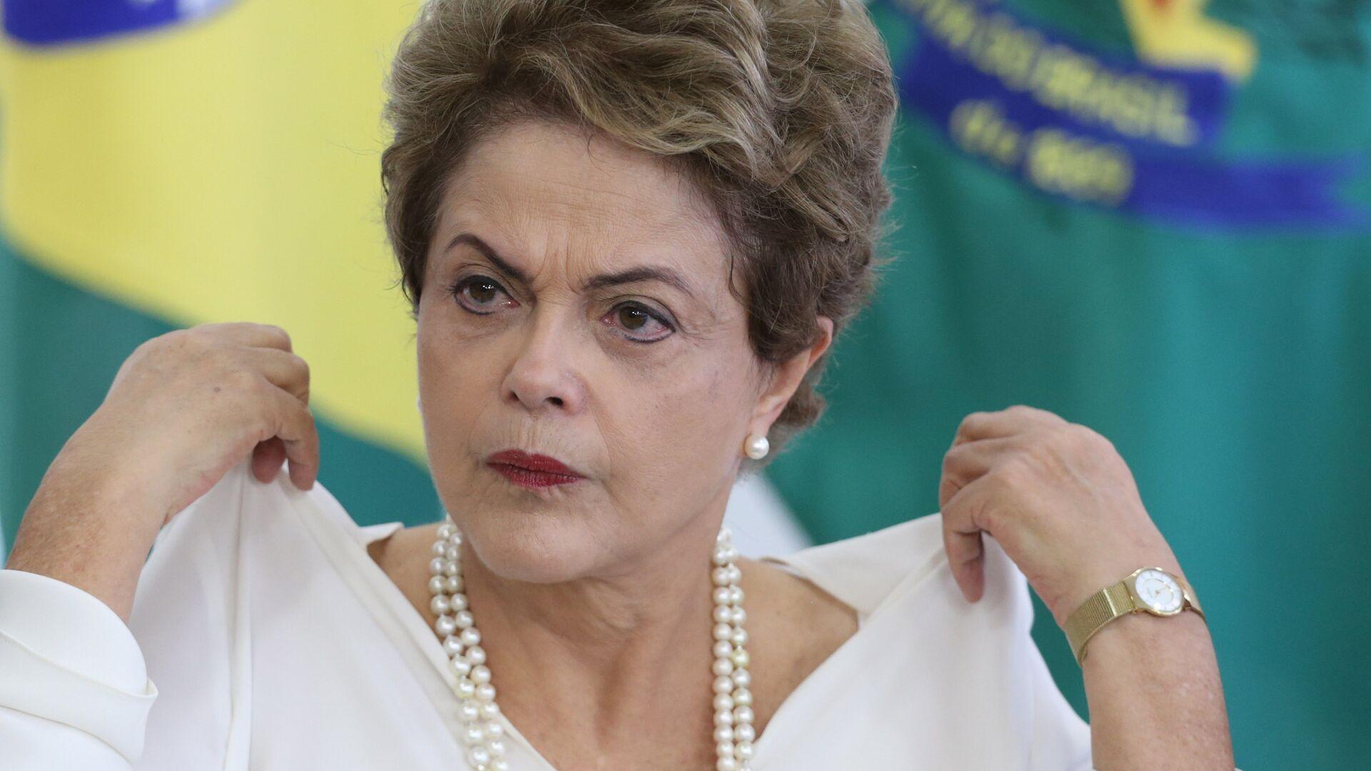 Dilma Rousseff, expresidenta de Brasil - Sputnik Mundo, 1920, 31.08.2021