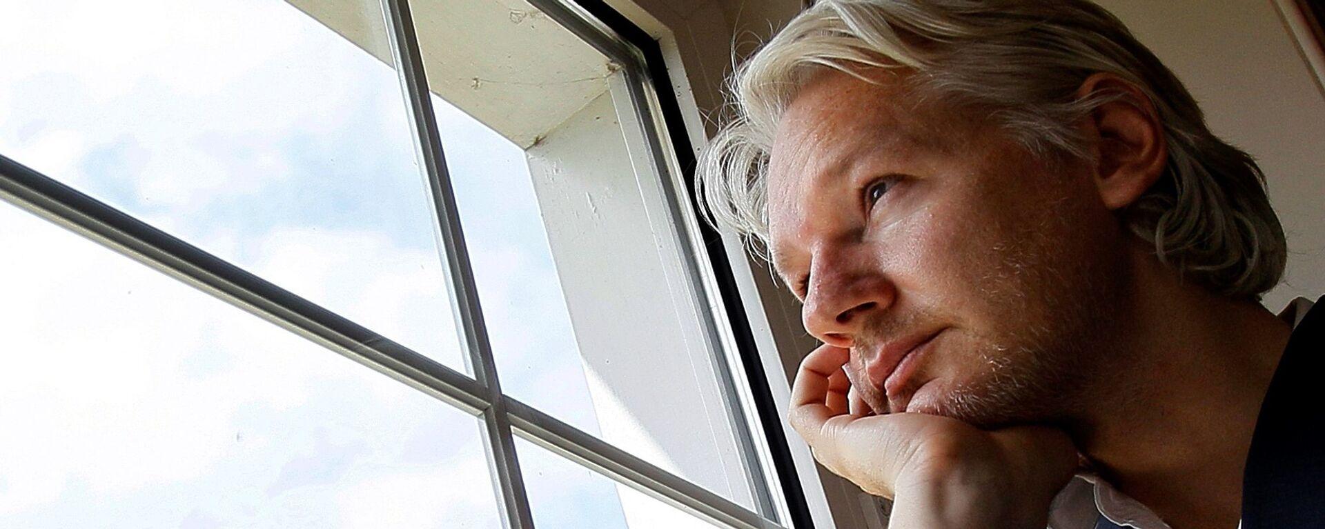 Julian Assange, fundador de WikiLeaks  - Sputnik Mundo, 1920, 21.07.2021