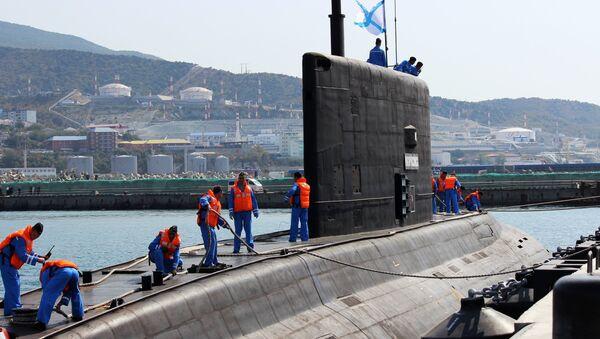 Submarino ruso de la clase Varshavyanka - Sputnik Mundo