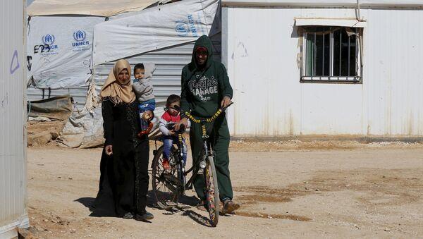 Refugiados sirios (archivo) - Sputnik Mundo