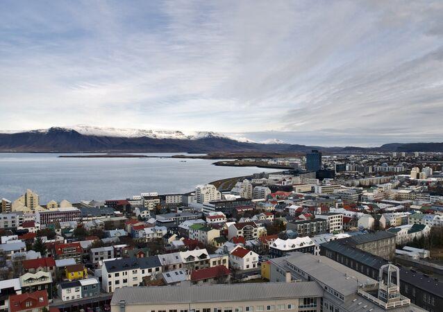 Reikiavik, la capital de Islandia