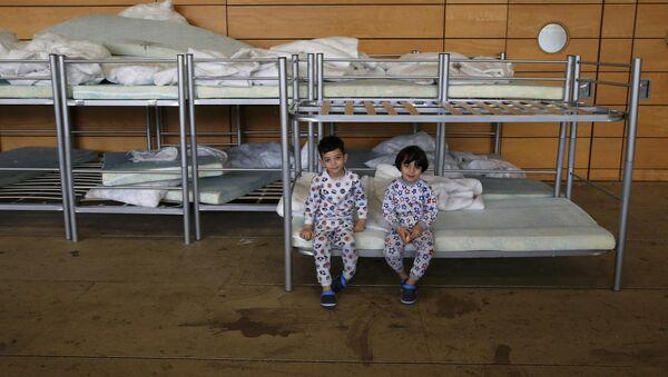 Niños refugiados en Berlín, la capital de Alemania - Sputnik Mundo