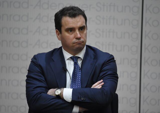 Aivaras Abromavicius, ministro de Desarrollo Económico de Ucrania