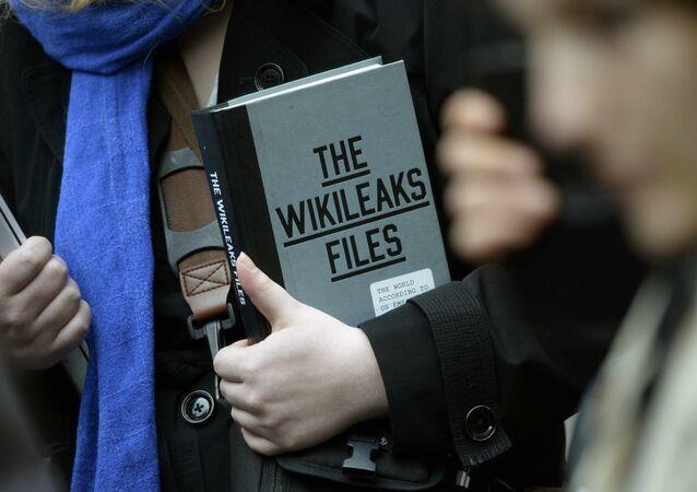 Libro 'The WikiLeaks Files'