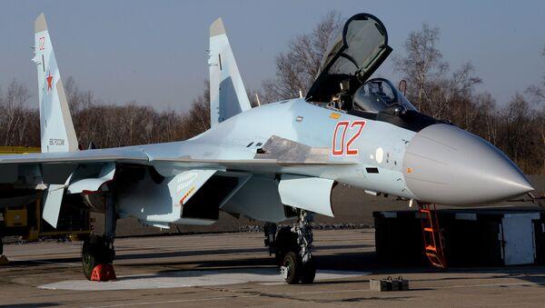 Caza ruso Su-35S - Sputnik Mundo