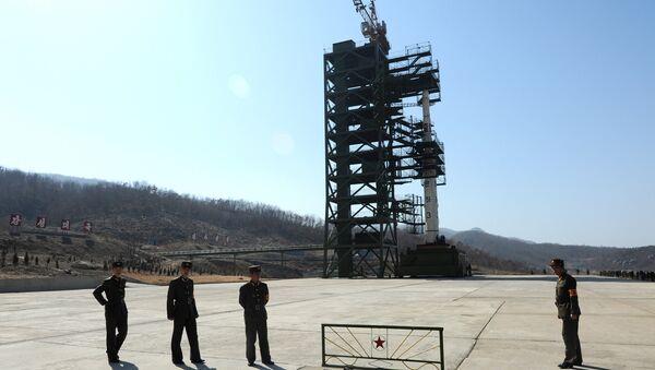 Polígono nuclear de Corea del Norte en la base de Sohae - Sputnik Mundo
