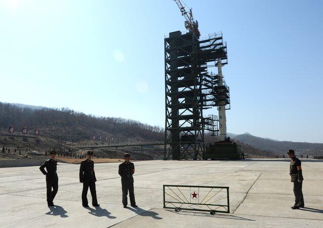 Polígono nuclear de Corea del Norte en Sohae