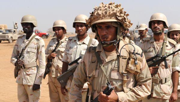 Soldados saudíes - Sputnik Mundo