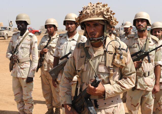 Soldados saudíes