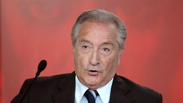 Eugenio Figueredo en 2007 - Sputnik Mundo