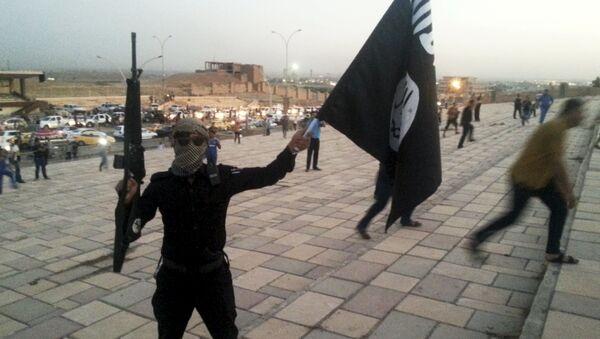 Militantes de Daesh (archivo) - Sputnik Mundo