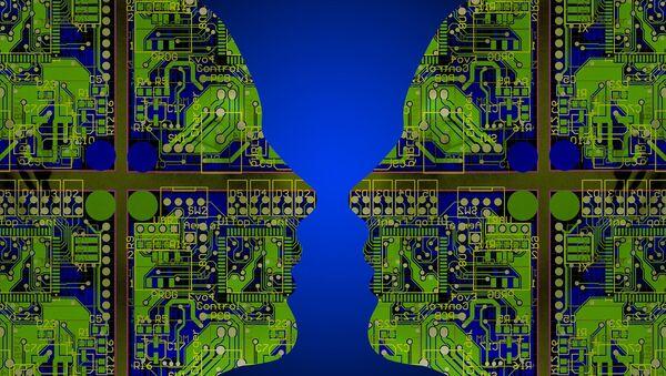 Inteligencia artificial (imagen referencial) - Sputnik Mundo