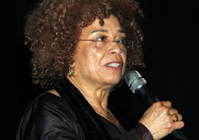 Angela Davis, activista norteamericana