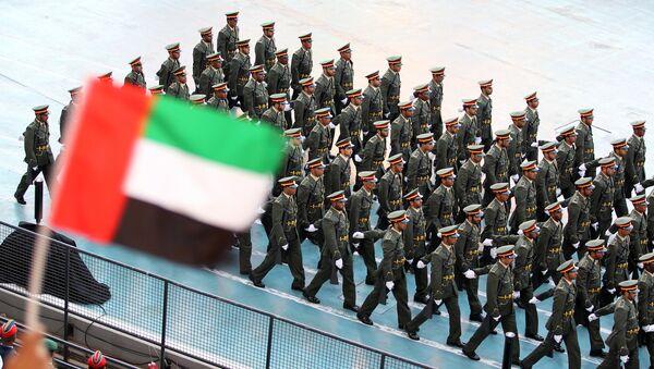 Soldados de Emiratos Árabes Unidos (archivo) - Sputnik Mundo