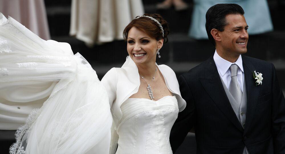 La boda del presidente de México, Enrique Peña, con Angélica Rivera