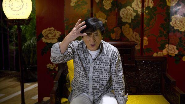 Jackie Chan, famoso artista marcial y actor chino - Sputnik Mundo