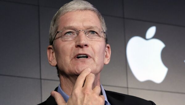 Tim Cook, Director Ejecutivo de Apple - Sputnik Mundo