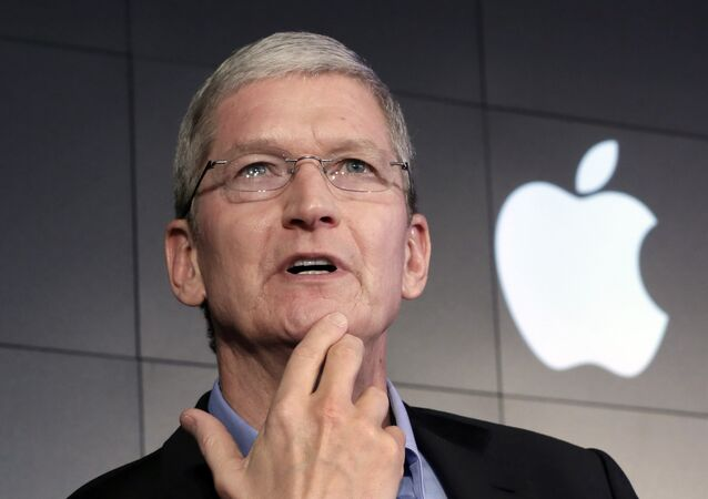 Tim Cook, director ejecutivo de Apple (archivo)