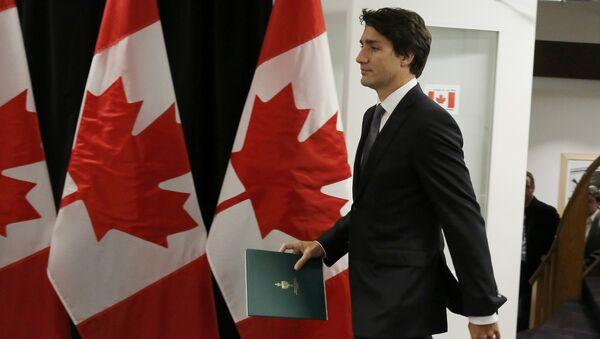 Canadian Prime Minister Justin Trudeau - Sputnik Mundo