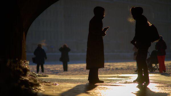 La gente en San Petersburgo - Sputnik Mundo