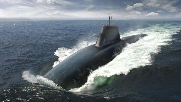 Submarino nuclear británico del proyecto Sucesor - Sputnik Mundo
