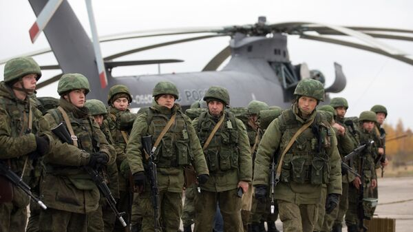 Entrenamientos de de las Fuerzas Aerotransportadas rusas - Sputnik Mundo