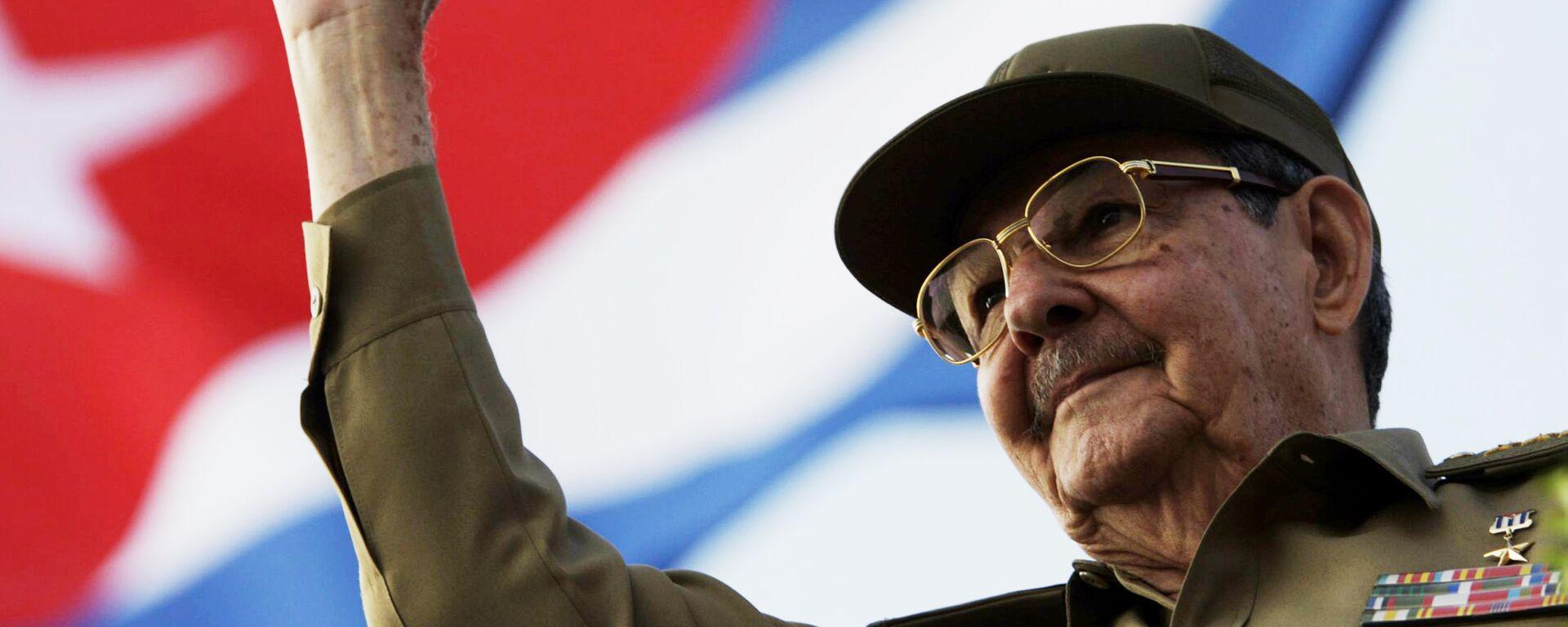 Raúl Castro, presidente de Cuba - Sputnik Mundo, 1920, 16.04.2021