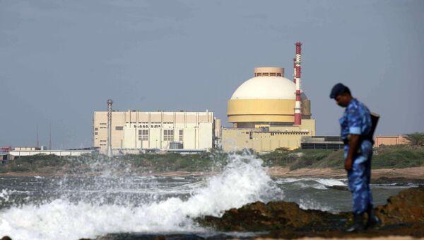 Central nuclear Kudankulam en la India - Sputnik Mundo