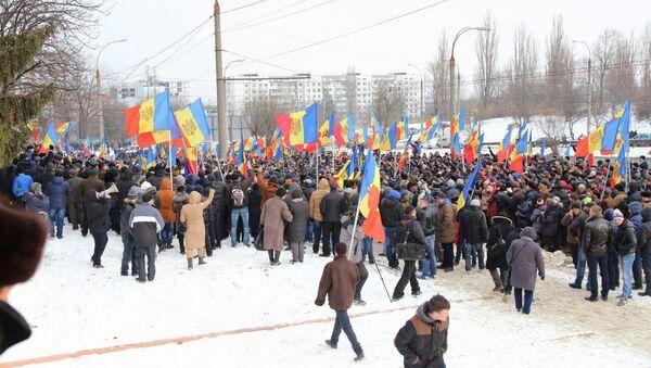 Protestas en Moldova - Sputnik Mundo