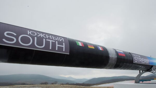 el gasoducto South Stream - Sputnik Mundo
